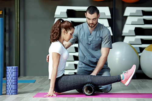A sports physical therapist can help in your physical rehabilitation.